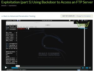 Exploitation with Backdoor