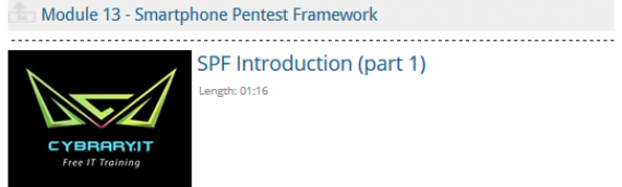 Start Learning Mobile Penetration Testing and the Smartphone Pentest Framework