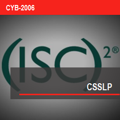 ISC2 Certified Secure Software Life-cycle Professional (CSSLP)