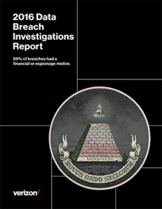 Verizon Data Breach Investigations Report 2016