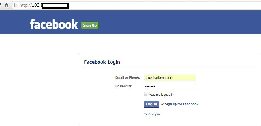 Social Engineering A Facebook Account Using Kali Linux - Cybrary