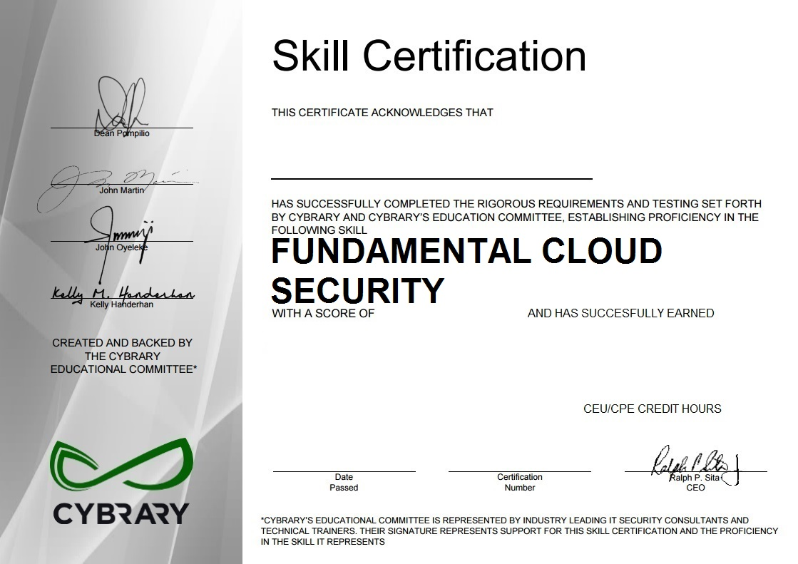Cloud Fundamentals