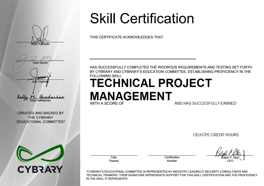 Technical Project Management