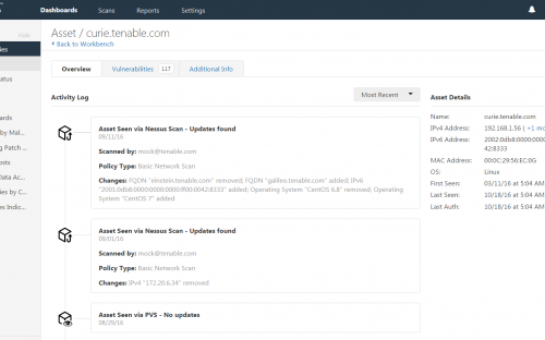 Transforming Vulnerability Management: Introducing Tenable