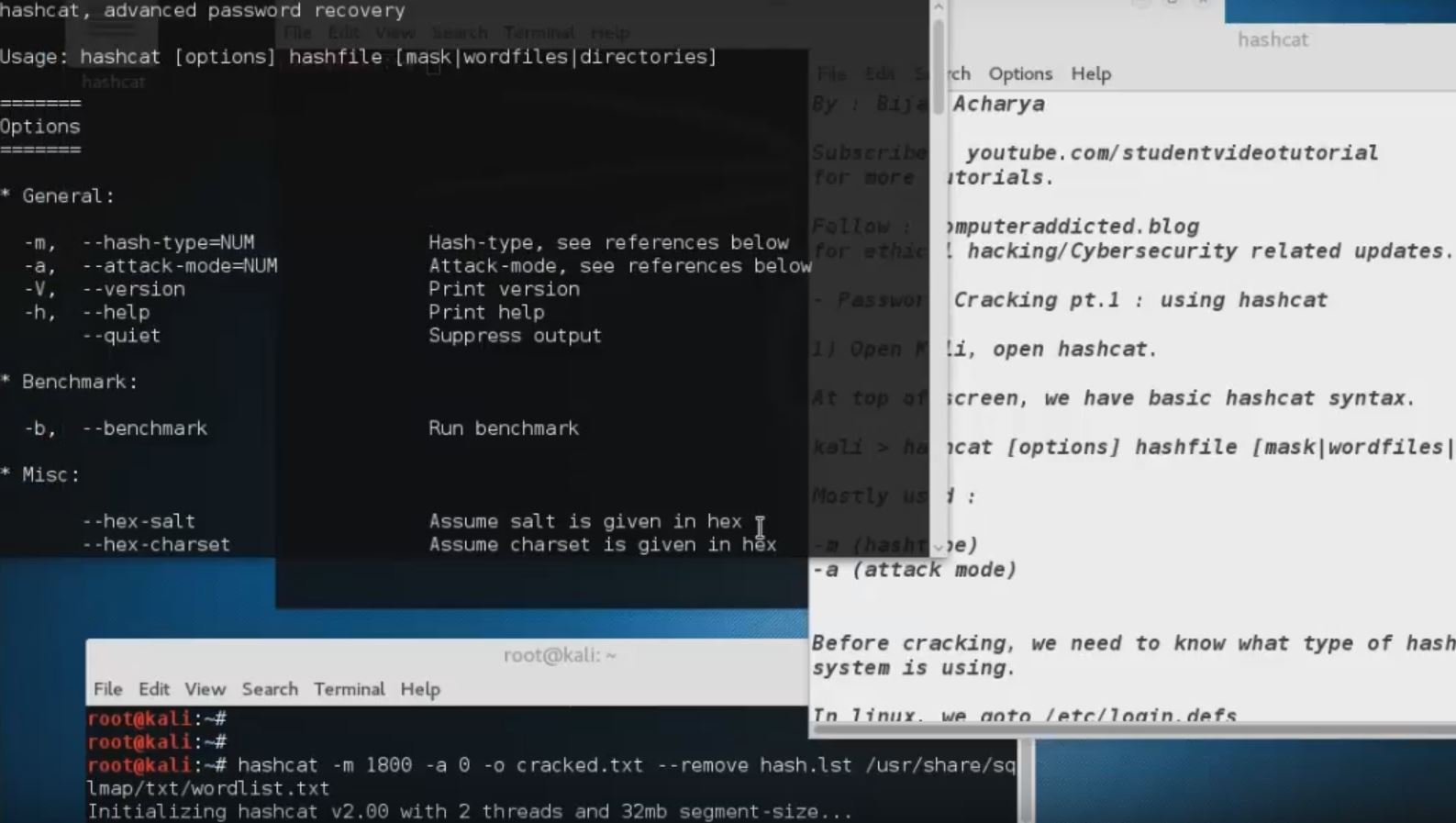 Password Cracking with Hashcat [Video Series] Part 1 - Cybrary
