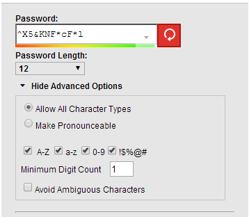 lasspass password generator