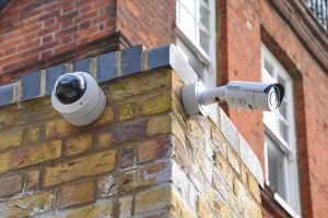 security-cameras-on-brick-walls