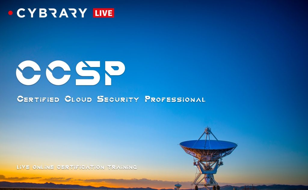 Certified Cloud Security Professional Live Series