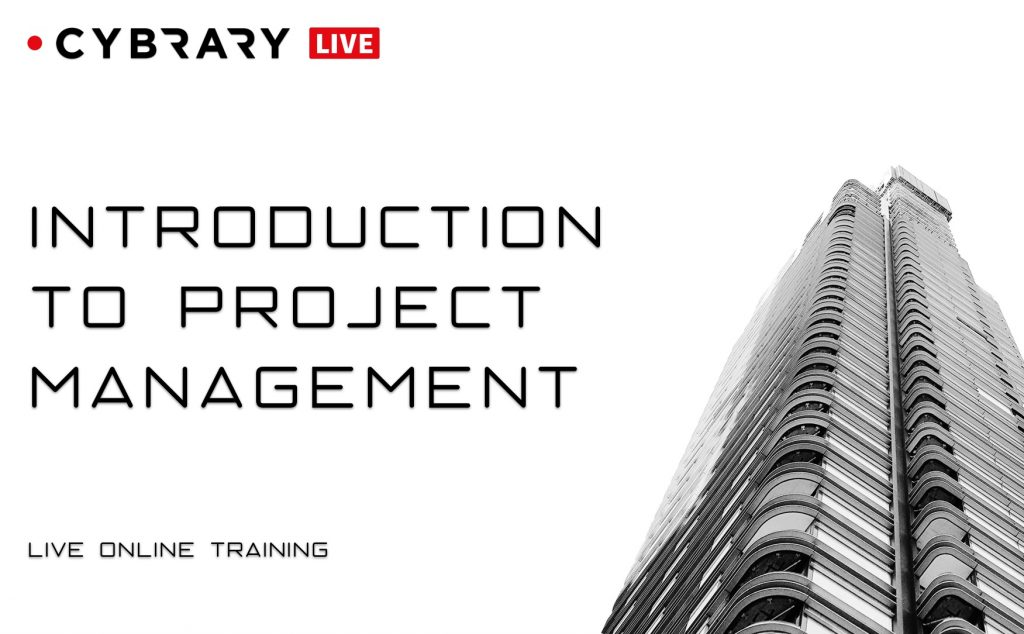Introduction to Project Management Live Series