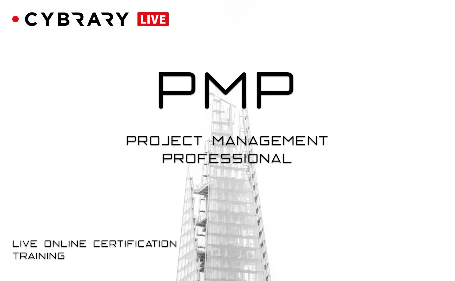 Project Management Professional Pmp Live Training Cybrary