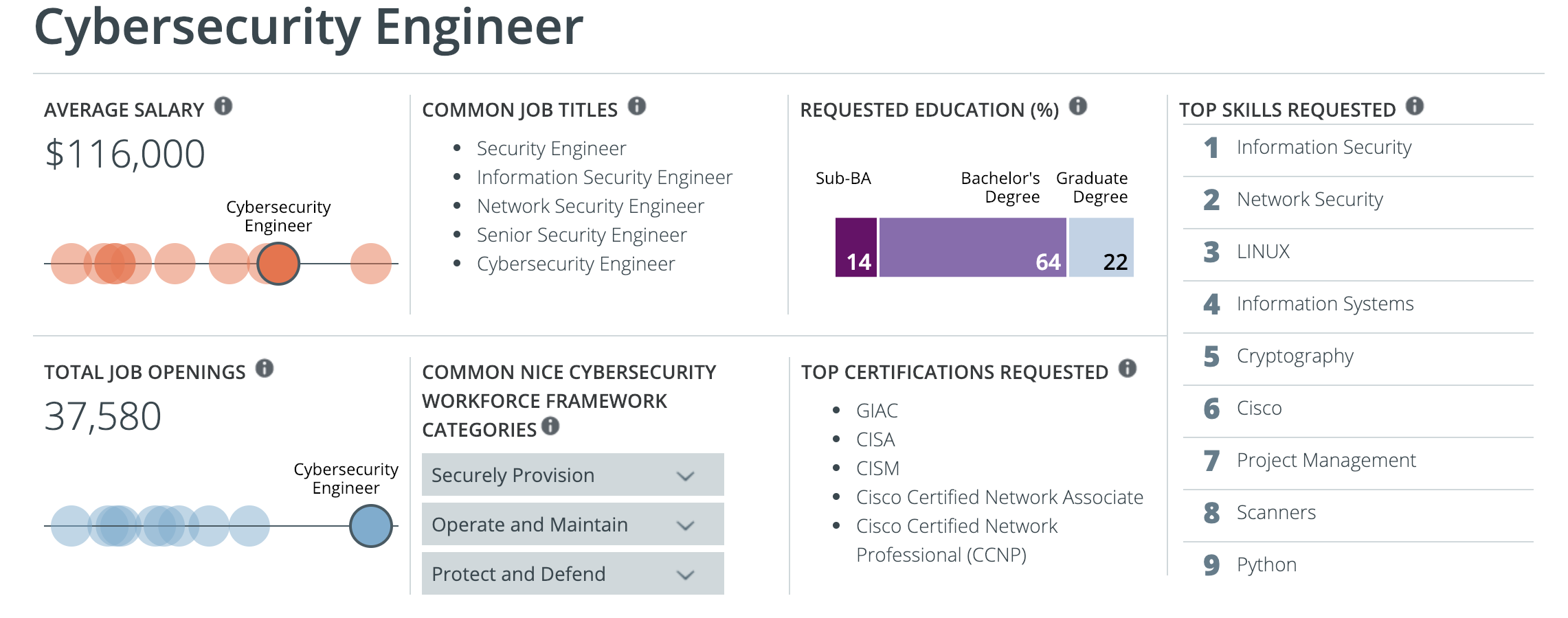 Cybersecurity Engineer information